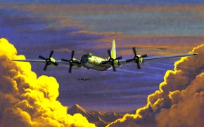 Picture Clouds, B-29, B-29 Superfortress, Strategic bomber, Heavy bomber