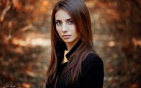 Wallpaper autumn, look, girl, Natalia, Ann Nevreva