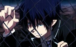 Picture rain, tears, Rin Okumura, Blue Exorcist, Ao No Exorcist