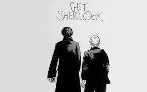 Picture background, art, the series, Sherlock Holmes, back, John Watson, Sherlock BBC, Dr. John Watson, John …