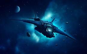 Picture Star, Stars, Space, Art, Planet, Nebula, Spaceship, Spacecraft, Genes Raz von Edler, by Gene Raz …