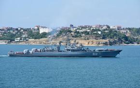 Picture ship, Sevastopol, guard, Inquisitive, author Erne