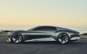 Picture coupe, Bentley, side view, concept car, 2019, EXP 100 GT