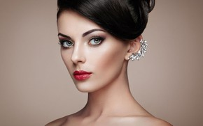 Picture portrait, look, style, Oleg Gekman, hairstyle, makeup, beautiful, girl