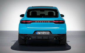 Picture Porsche, rear view, 2018, crossover, Macan, Macan S