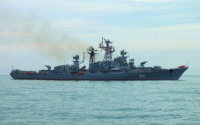 Picture ship, The black sea, Quick-witted, guard, project 61