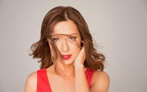 Picture look, pose, makeup, actress, singer, Julia Savicheva