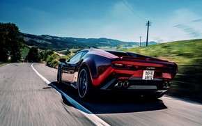 Picture coupe, V10, on the road, De Tomaso Pantera, Hurricane, Lamborghini Huracan, 2020, two-door, Project1, Panther …