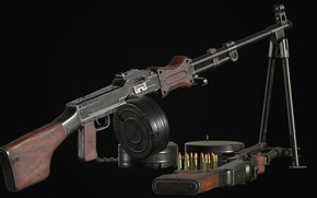 Picture Russia, Light machine gun Degtyarev, RPD-44