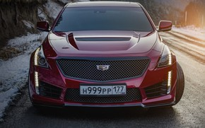 Picture cadillac, cts-v, ingushetia