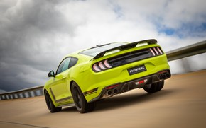 Picture speed, Mustang, Ford, rear view, AU-spec, R-Spec, 2019, Australia version