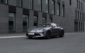 Picture street, coupe, Alpine, 2019, A110S