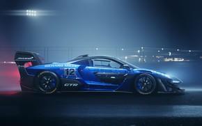Picture machine, light, night, McLaren, GTR, drives, Senna, track car