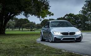 Picture BMW, Light, Green, Silver, F80, Sight