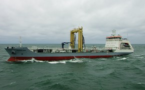 Picture tanker, sea, average, Academician Pashin