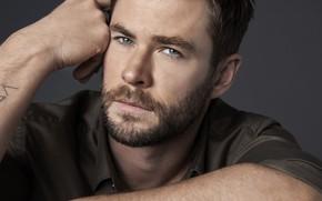 Picture actor, handsome, Chris Hemsworth, Chris Hemsworth