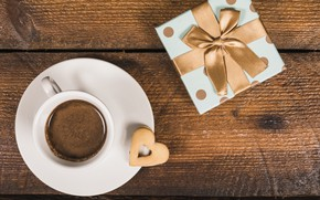 Picture gift, coffee, Breakfast, tape