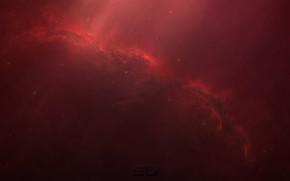 Picture Stars, Space, Fantasy, Art, Stars, Space, Art, Fiction, Space, StarkitecktDesigns, by StarkitecktDesigns, Red Crow Nebula