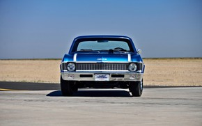 Picture Muscle, Blue, 1970, Chevrolet Nova, Yenko Deuce