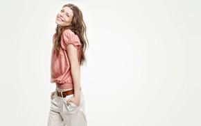 Picture smile, model, Louise Pedersen