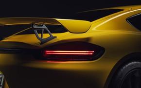 Picture Porsche, Cayman, GT4, 718
