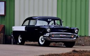 Picture Chevrolet, Blue, Vintage