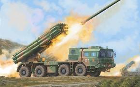 Picture China, Tornado, MLRS, MLRS, the jet system of volley fire, PLA, BM-30, Chinese PHL-03 MLRS