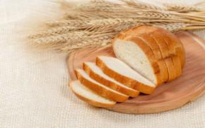 Picture bread, ears, towel