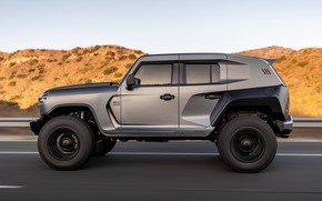 Picture SUV, side view, Tank, Rezvani, 2020