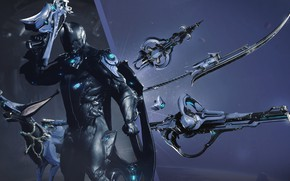 Picture weapons, being, Warframe