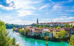 Picture river, Switzerland, Bern, Barengraben