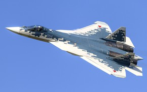 Picture fighter, Sukhoi, fifth generation, Su-57