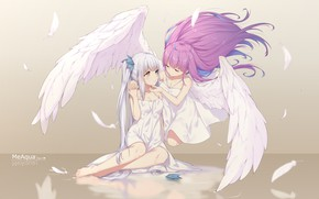 Picture girls, angels, Virtual Youtuber, Virtual Youtuber