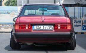 Picture W201, E190, Mercedes - Benz, Baby-benz