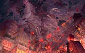 Picture the city, street, perfume, guys, ghosts, The Blade Cleaves Demons, Yukinoneko, Demon Slayer: Kimetsu no …