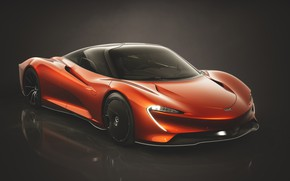 Picture McLaren, hypercar, 2019, Speedtail, Astral