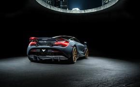 Picture McLaren, supercar, rear view, Vorsteiner, 2018, 720S, Silverstone Aero Program