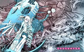 Picture anime, art, girl, Soul eater, Soul Eater