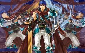 Picture Fire Emblem, the game, sword, guy