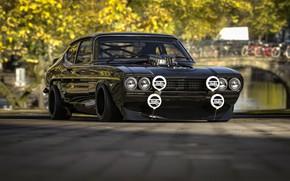 Picture Ford, Auto, Machine, Rendering, Concept Art, Capri, Ford Capri, Transport & Vehicles, Rostislav Prokop, by …