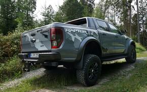 Picture grey, Ford, body, Raptor, pickup, primer, Ranger, 2019