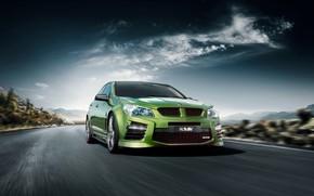 Picture Clouds, Landscape, Speed, GTS, Road, Holden, Vehicle, HSV, Commodore, Holden Special Vehicles