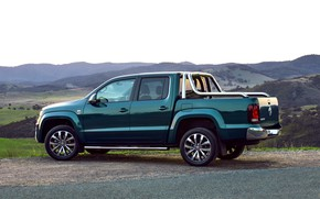Picture hills, Volkswagen, pickup, Ultimate, Amarok, Double Cab, 2016