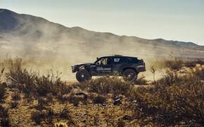 Picture Volkswagen, side view, 4x4, shrub, 2019, Atlas Cross Sport R Concept
