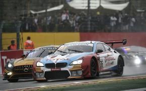Picture coupe, overtaking, BMW, Belgium, tribune, Circuit De Spa-Francorchamps, 2019, M6 GT3, Circuit de Spa-Francorchamps