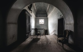 Picture house, chairs, interior