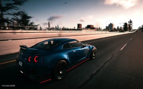 Picture game, Nissan, car, Nissan GT-R, Nissan GTR, The Crew 2