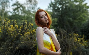 Picture freckles, redhead, Olga Gridina, Noortje, The Day I Met A Fox