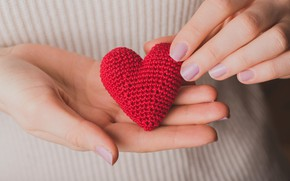 Picture love, heart, hands, nails