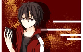 """Picture look, frame, guy, Kagerou Project, The project """"hot Fog"""""""